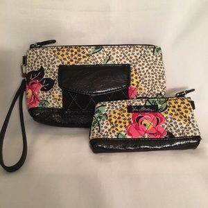 Vera Bradley MultiColor Wristlet Coin Set 2 Piece